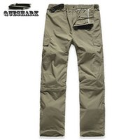Wholesale Men Pants Khaki Army Green Outdoor Camping Quick Dry UV Resistant Active Pant Sports Military Trousers