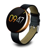 Wholesale Smart watch DM360 smart watches wearable Bracelet Android IOS system movement heart rate touch screen round table