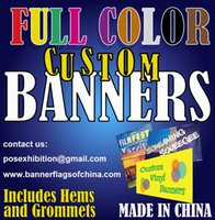 customized banner eyelets - CUSTOM VINYL BANNER Premium PVC Banner Heavy Duty Top Quality Includes Eyelets Fantastic