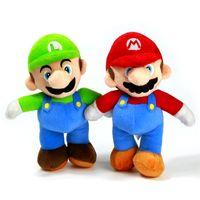 Wholesale 26cm Super Mario Plush Toy Doll Big Size Yoshi Luigi Toy Doll Movie TV Stuffed Plush New