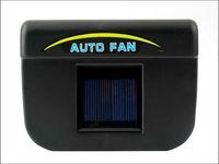 Wholesale Solar Powered Car fans solar Auto Cool Fan Car Air Ventilation System Car Cooler Cooling Fan Auto fan
