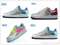 Wholesale Silver quot Sakura quot AF Women s Walking Shoes High Quality Women Sport Skate Shoes Cheaper Training Shoes