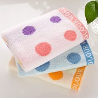 baby mouth wipes - 2016 Cotton Towel Manufacturers Color Circle Untwisted Cotton Towel Children Infant Baby Towel To Wipe Your Mouth HY1255