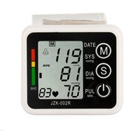 Wholesale Health Care Wrist Blood Pressure Digital LCD Screen Heart Beat Pulse Monitor Meter Cuff Blood Pressure Measure