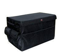Wholesale Car Foldable Trunk Big Storage Box Bag Organizer Case Debris Storage Compartment Oxford Cloth Material Foldable With Compartments