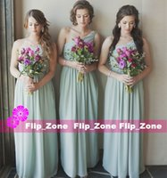 beach blogs - 2016 A Line Mismatched Bridesmaid Dresses with One Shoulder Long Chiffon Maid of Honor Gowns for Beach Garden Wedding Party Blog Cheap