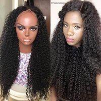 Wholesale 7A Full Lace Human Hair Wigs For Black Women Brazilian Kinky Curly Lace Front Human Hair Wigs Cheap Glueless Full Lace Wigs