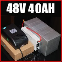 Wholesale 48V AH LiFePO4 Electric Bicycle Battery with W BMS Chargrer RC Solar energy E bike Electric Bicycle Scooter V battery