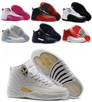 Wholesale Top Retro XII Basketball Shoes Sneakers Men Women Taxi Playoffs Replicas Gamma White Gray Retros Shoes Sports Shoes