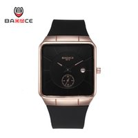 alloy sports goods - New Luxury watches Badace with colors PU Glue band sports Good Gift Quartz watch