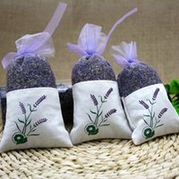 Wholesale Lavender Sachet Helps Sleep Sedative Natural Aromatic For Wedding Living Room Drawer Car Office Bags Smell Sachets