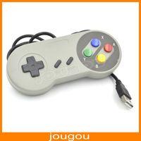 Wholesale Super Nintendo Famicom SF SNES PC Controller Gamepad Joypad USB Windows Mac BX