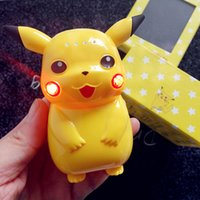 Wholesale Poke Go power bank Cute Pikachu power bank mah Portable cell phone Chargers External Backup Battery power with Retail Box