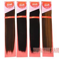 yaki weave hair - 6PCS Premium Now Hair12inch High Quality Yaki Straight Blended Hair Weaves Mixed Hair Extensions Black Blonde