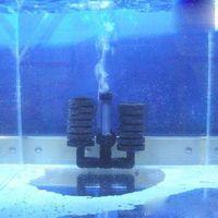 Wholesale Aquarium Biochemical Sponge Filter With Fish Air Pump Tank Aquarium Filters Accessories