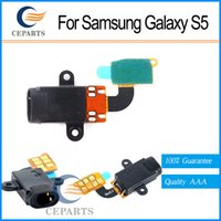 audio hole - Original New For Samsung Galaxy S5 Earphone Audio Headphone Jack Hole Connector Flex Ribbon Cable with fast shipping