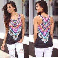 Wholesale Fashion Ladies Women Summer v Neck Vest Top Sleeveless Shirt Blouse Casual Tank Tops T Shirt