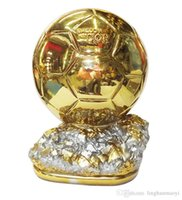 Wholesale 2014 FIFA Ballon d Or Trophy for cm Resin Best Player Awards Golden ball Soccer Trophy Mr Football trophy