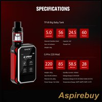 baby bluetooth - Smok G Priv Kit W G Priv Inch Touch Screen Box Mod with ML TFV8 Big Baby Tank Bluetooth Smart App Connection Authentic