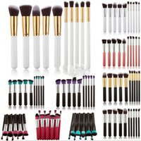 real techniques makeup brush - 2016 Hot Wood Set And Kits Makeup Brushes High Quality Exquiste Antibacterial Nylon Wool Makeup Brushes Tools Real Techniques Brushes