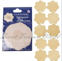 Wholesale 2016 Women One time Cubrepezon Nipple Cover Patch Breast Nipple Pad Petals Breast Nipple Pad Sin bra Breast Nipple Pad Petals