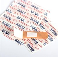 band aid tape - Outdoor sport emergency usage medical adhesive bandages for wound Medical band aid Plastered adhesive stripes medical tapes