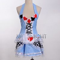 Wholesale Sexy Girls Alice In Wonderland Fancy Dress Halloween Costume S M L XL XL