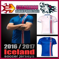 best bowling shirts - Iceland Iceland soccer shirts home football shirts away tops of standing youth maillot city sets in stock best quality