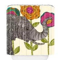 Wholesale 2015 Hot sale Custom elegant waterproof elephant Shower Curtain quot x quot bathroom decoration