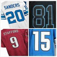 barry sanders football jersey - Welcome Mix Orders Matthew Stafford Barry Sanders Golden Tate III cheapest Elite Football Jerseys