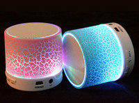android subwoofer - DHL A9 Bluetooth Speaker Wireless Speaker LED Subwoofer Stereo HiFi Player For IOS Android Phone