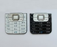 Wholesale Black White new Housing Cover Case Keyboards Keypads For Nokia C