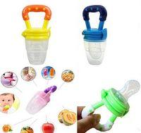 Wholesale Baby Infant Feeding Dummies Pacifier Soother Nipples Soft Feeding Tool BiteGagXW Infant Nipple Pacifiers Supplies Nipple Fresh