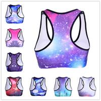 beautifull black women - 2016 New Hot American Style Galaxy Yoga Bras Colors Fashion Comfortable Sports Star Bra Beautifull Breathable Women Bras