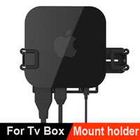 Wholesale Universal Wall Mount Case Bracket Holder Tray For Apple TV AirPort Express Amazon Fire TV most tv box