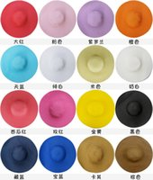 beach news - 2016 news fashion Ribbon straw beach hat solid summer hats for women for girls casual black sun hats