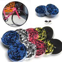 Wholesale Colorful Cycling Handle Belt Bike Bicycle Cork Handlebar Tape Wrap Bar Free