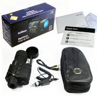 al por mayor professional ir cameras-6x50 IR infrarrojo de visión nocturna monocular de caza sin térmica de cámara del telescopio profesional de vídeo digital HD IR de los anteojos