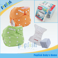 baby wizard diaper - Washable Reusable Nappies Baby Wizard Modern Cloth Diaper Popfish Adjustable Kids Diaper Cover Free Size Girl Boy Nappy Chaning