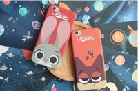 apple mobil phone - Crazy Animal Cartoon City Iphone6 Mobile Phone Shell plus Protective Sleeve All Fall Proof Matte Hard Couple Good And Never Installed Mobil
