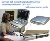 animal veterinary - Easywell Elements Digital Color Veterinary Ultrasound EW C15V With Micro convex Probe For Animals Abdominal Evaluation