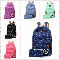 big canvas bag - 2016 Hot Sale Canvas Women backpack Big Capacity School Bags For Teenagers Printing Backpacks For Girls Mochila Escolar bb