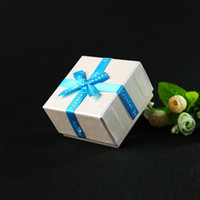 Wholesale 3 Color Jewelry Gift Boxes Necklaces Earrings Ring Bracelet Packing Box Exquisite Fashion Jewelry Boxes Drop Shipping