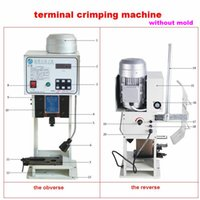 automatic crimping machine - Fully automatic High speed terminal crimping machine without mold