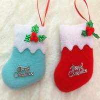 animal christmas stockings - Christmas Decorations Christmas sock christmas trees pendant Colour In Stock