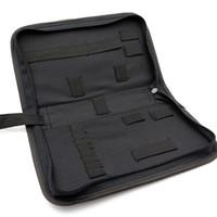 bags watchband - Watch Repair Tool Kit Zipper Bag ZLIMSN Brand Black Big Size Multifunctional Canvas Maintenance Watchbands Accessories TL100