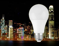 Wholesale LED Globe bulbs Lights E27 B22 Lamp bubble w w w w high bright A19 A60 LED bulbs AC85 V
