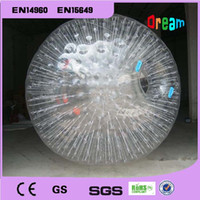 Wholesale Clear Rolling Ball M Inflatable Ball Human Hamster Ball Inflatable Body Zorb Ball