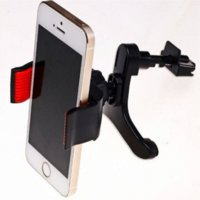Wholesale New Car Air Vent Holder Stand For iPhone4s s plus for samsung s4 s5 s6 Universal Mobile Phone Holder Stand soporte