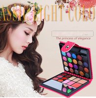 Wholesale New Pattern Color Makeup Set China Multi Color Eye Shadow Disc Top Grade Wallet Multiple Box Color Makeup Tool